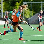 AMSTELVEEN  - Laura van Weeren (Gro)   Hoofdklasse hockey dames ,competitie, dames, Amsterdam-Groningen (9-0) .     COPYRIGHT KOEN SUYK