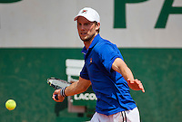 France, Paris, 31.05.2014. Tennis, French Open, Roland Garros, Andreas Seppi (ITA)<br /> Photo:Tennisimages/Henk Koster