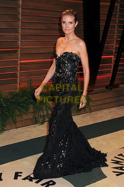 02 March 2014 - West Hollywood, California - Heidi Klum. 2014 Vanity Fair Oscar Party following the 86th Academy Awards held at Sunset Plaza.  <br /> CAP/ADM/BP<br /> &copy;Byron Purvis/AdMedia/Capital Pictures