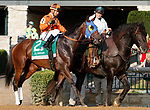 """October 07, 2018 : #2 Chocolate Martini and jockey Corey Lanerie in the 63rd running of The Juddmonte Spinster (Grade 1) $500,000 """"Win and You're In Breeders' Cup Distaff Division"""" at Keeneland Race Course on October 07, 2018 in Lexington, KY.  Candice Chavez/ESW/CSM"""