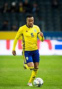 SOLNA, SWEDEN - OCTOBER 16: Martin Olsson of Sweden during the UEFA International Friendly match between Sweden and Slovakia at Friends Arena on October 16, 2018 in Solna, Sweden. Photo by David Lidstrom/LP<br /> ***BETALBILD***