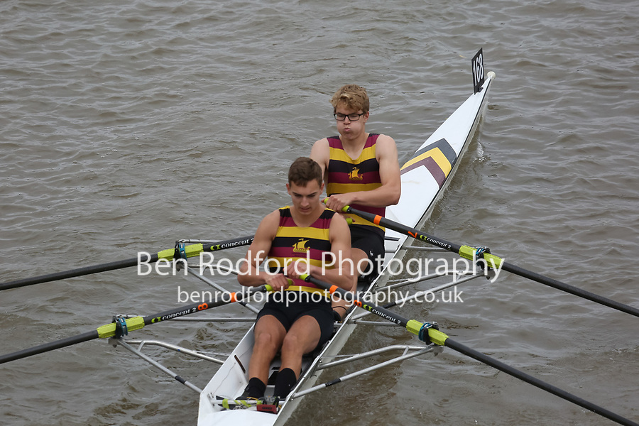 Crew: 168   SHP-TRAUMANN    Shiplake College Boat Club    Op J18 2x Inter <br /> <br /> Pairs Head 2017<br /> <br /> To purchase this photo, or to see pricing information for Prints and Downloads, click the blue 'Add to Cart' button at the top-right of the page.