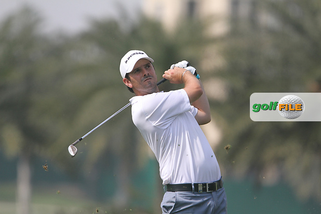 Thomas Aiken (RSA) on the 16th during Round 3 of the 2013 Avantha Masters, Jaypee Greens Golf Club, Greater Noida, Delhi, 16/3/13..(Photo Jenny Matthews/www.golffile.ie)