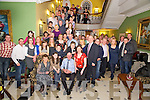 Malachy Moynihan, Rockfield, Killarney, pictured with his family and friends as he celebrated his 60th birthday in the Dromhall Hotel, Killarney on Saturday night.......................