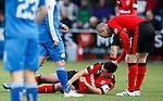 Lee Wallace injured