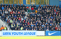 20191023 - Genk: Supporters are pictured during the UEFA Youth League group stages match between KRC Genk Youth and Liverpool FC on October 23, 2019 at KRC Genk Stadium Arena B, Genk, Belgium. PHOTO:  SPORTPIX.BE | SEVIL OKTEM