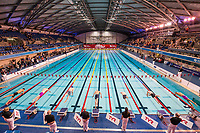 Picture by Allan McKenzie/SWpix.com - 15/12/2017 - Swimming - Swim England Winter Championships - Ponds Forge International Sports Centre, Sheffield, England - The mens 100m freestyle sets off. gv, general view.