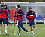 England's Andros Townsend in action during training at Tottenham Hotspur training centre, London. Picture date November 14th, 2016 Pic David Klein/Sportimage