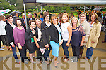 1993 Roses were l-r: Jennifer Daly (Toronto) Charlotte Ramsey (Leeds) Kelly McGrath O&rsquo;Doherty (New York) and Fiona Whyte Smith (Cork) who were pictured at the unveiling of the Rose monument in Tralee Town Park on Thursday last.<br /> Selina Galvin (Manchester Rose, 1993) Kirsty Flynn O&rsquo;Shea (Midlands UK Rose, 1993) Sabina Sheehan (Germany Rose, 1993) Orla Flynn (France Rose, 1993) Victoria Riendeau (Washington DC Rose, 1993) and Mary Corkery (Dublin Rose, 1993)