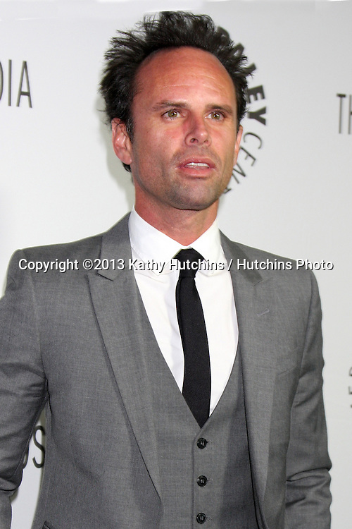LOS ANGELES - OCT 16:  Walton Goggins at the 2013 Paley Center For Media Benefit Gala at 21st Century Fox Studios Lot on October 16, 2013 in Century City, CA