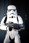 BURBANK - JUN 26: Star Wars characters, Stormtroopers at the 39th Annual Saturn Awards held at Castaways on June 26, 2013 in Burbank, California