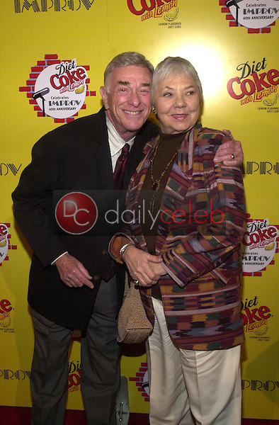 Shelley Berman and wife Sarah<br />