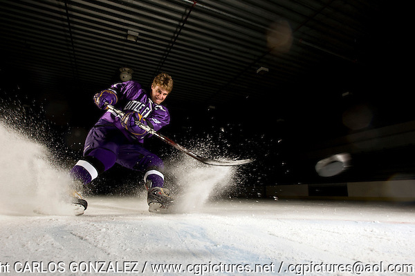 September 9, 2008 ? Little Falls, MN - Ben Hanowski - .Two years ago, Little Falls had another talented hockey player - Jared Festler - who skipped his senior year on the brink of a number of scoring records in order to play junior hockey. This year, Hanowski is approaching many of those same records, but he has opted to stay in high school through his senior year and could eclipse the all-time scoring mark in Minnesota with a big season...