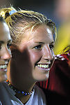 19 June 2003: Aly Wagner after the game. The WUSA World Stars defeated the WUSA American Stars 3-2 in the WUSA All-Star Game held at SAS Stadium in Cary, NC.