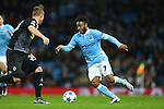 Raheem Sterling of Manchester City in action - Manchester City vs Monchengladbach - UEFA Champions League - Etihad Stadium - Manchester - 08/12/2015 Pic Philip Oldham/SportImage