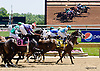Magic Lion winning at Delaware Park racetrack on 6/16/14
