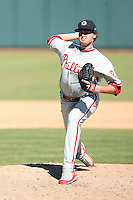 Tyson Brummett - Mesa Solar Sox - 2010 Arizona Fall League.Photo by:  Bill Mitchell/Four Seam Images..