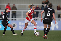 Leah Williamson of Arsenal during Arsenal Women vs Bristol City Women, Barclays FA Women's Super League Football at Meadow Park on 1st December 2019