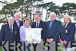 Joe and Gerard Walsh present the winners of the Killarney Golf club Invitational Mixed Championship their prizes on the course on Monday evening l-r: Senator Paul Coughlan, Gerard Walsh, Mary Lynch, Jack Buckley Captain, Joe Walsh and Margaret Brosnan Lady Captain
