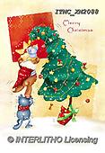 Marcello, CHRISTMAS ANIMALS, WEIHNACHTEN TIERE, NAVIDAD ANIMALES, paintings+++++,ITMCXM2088,#XA#