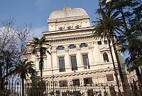 Sinagoga ebraica sul Lungotevere..Jewish Synagogue on Lungotevere..