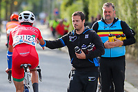 Picture by Alex Whitehead/SWpix.com - 23/09/2017 - Cycling - 2017 UCI Road World Championships, Day 7 - Bergen, Norway - Junior Men's Race. Feed Zone.
