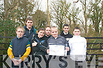 Pictured at Ballyseedy Woods for an orienteering trip on Thursday were.FRONT L-R: OLIVER O' MAHONEY,OISIN SHANAHAN, KEITH HANNAFIN AND DANNY O' CONNOR.BACK ROW: DANIEL CULLOTY, RYAN O' CARROLL AND RYAN O CONNOR.   Copyright Kerry's Eye 2008