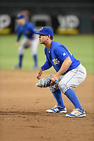 ***Temporary Unedited Reference File***Omaha Storm Chasers first baseman Cheslor Cuthbert (24) during a game against the Memphis Redbirds on May 5, 2016 at AutoZone Park in Memphis, Tennessee.  Omaha defeated Memphis 5-3.  (Mike Janes/Four Seam Images)