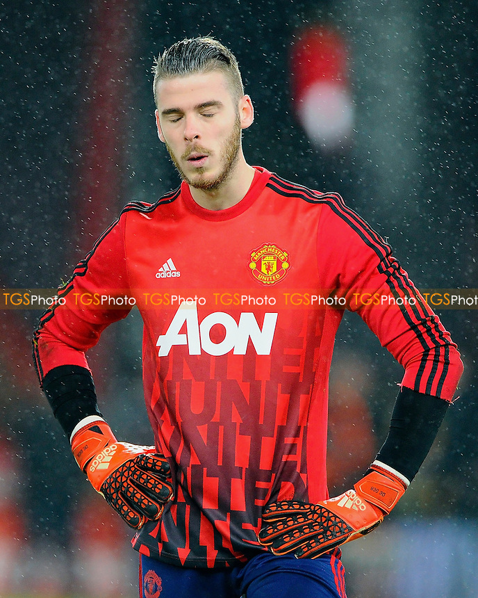 David De Gea of Manchester United during AFC Bournemouth vs Manchester United at the Vitality Stadium