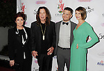 BEVERLY HILLS, CA- SEPTEMBER 13: (L-R) TV personalities Sharon Osbourne, Ozzy Osbourne, Jack Osbourne and wife Lisa Osbourne attend the Brent Shapiro Foundation for Alcohol and Drug Awareness' annual 'Summer Spectacular Under The Stars' at a private residence on September 13, 2014 in Beverly Hills, California.