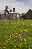 Europe/France/Normandie/Basse-Normandie/50/Manche/ Vains: L'écomusée de la baie du Mont Saint-Michel, Maison de la Baie //  France, Manche, Vains,   Eco-museum of the Mont-Saint-Michel bay