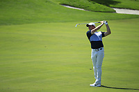 Rory McIlroy (NIR) in action during the final round of the Northern Trust played at Liberty National Golf Club, Jersey City, USA. 11/08/2019<br /> Picture: Golffile | Michael Cohen<br /> <br /> All photo usage must carry mandatory copyright credit (© Golffile | Michael Cohen)