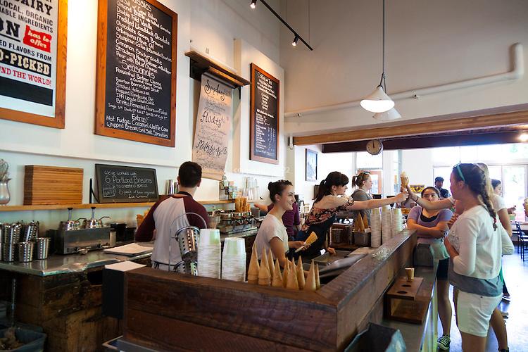 Salt & Straw, an ice cream scoop shop in Portland, Oregon