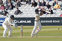 Stephen Eskinazi of Middlesex CCC drives through extra cover during Middlesex CCC vs Lancashire CCC, Specsavers County Championship Division 2 Cricket at Lord's Cricket Ground on 11th April 2019
