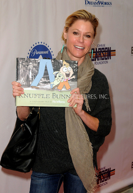 WWW.ACEPIXS.COM . . . . .  ....April 15 2012, LA....Julie Bowen arriving at the 3rd Annual Milk And Bookies Story Time Celebration at the Skirball Cultural Center on April 15, 2012 in Los Angeles, California.....Please byline: PETER WEST - ACE PICTURES.... *** ***..Ace Pictures, Inc:  ..Philip Vaughan (212) 243-8787 or (646) 769 0430..e-mail: info@acepixs.com..web: http://www.acepixs.com