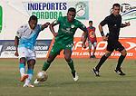 Con 9 hombres durante gran parte del segundo tiempo, Jaguares de Córdoba aguantó y aguantó hasta quedarse con el empate 1 – 1 ante Equidad, en compromiso de la fecha 12 de la Liga de Fútbol Profesional Colombiano, disputado este sábado por la tarde en el Estadio Municipal de Montería.
