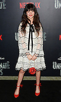 www.acepixs.com<br /> <br /> January 11 2017, New York City<br /> <br /> Malina Weissman arriving at the 'Lemony Snicket's A Series Of Unfortunate Events' Screening at the AMC Lincoln Square Theater on January 11, 2017 in New York City. <br /> <br /> By Line: Nancy Rivera/ACE Pictures<br /> <br /> <br /> ACE Pictures Inc<br /> Tel: 6467670430<br /> Email: info@acepixs.com<br /> www.acepixs.com