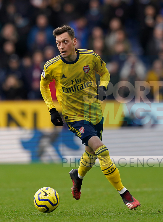 Mesut Ozil of Arsenal during the Premier League match at Turf Moor, Burnley. Picture date: 2nd February 2020. Picture credit should read: Andrew Yates/Sportimage