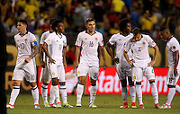 CHICAGO - UNITED STATES, 22-06-2016: Jugadores de Colombia  durante partido por la semifinal  entre Colombia (COL) y Chile (CHI)  por la Copa América Centenario USA 2016 jugado en el estadio Soldier Field en Chicago, USA.  /  Players of Colombia (COL)  during a match for the semifinal between Colombia (COL) and Chile  (CHI) for the Copa América Centenario USA 2016 played at Soldier Field  stadium in Chicago, USA. Photo: VizzorImage/ Luis Alvarez /Cont.