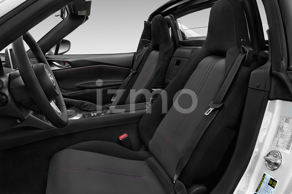 Front seat view of a 2019 Mazda MX-5 RF Club 2 Door Convertible front seat car photos