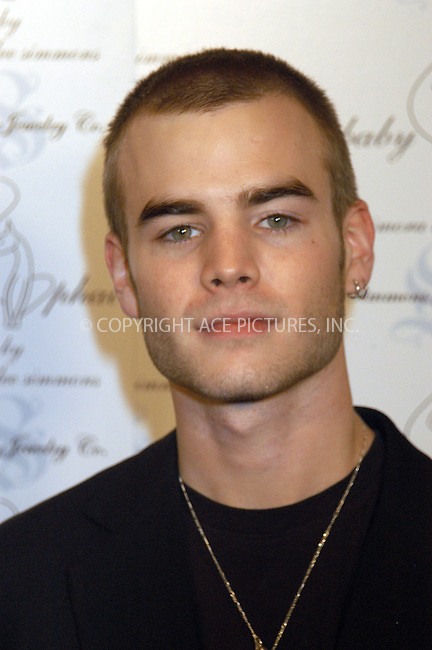 WWW.ACEPIXS.COM . . . . . ....NEW YORK, FEBRUARY 5, 2005....David Gallagher at the Baby Phat Fall 2005 fashion show. ..Please byline: KRISTIN CALLAHAN - ACE PICTURES.. . . . . . ..Ace Pictures, Inc:  ..Philip Vaughan (646) 769-0430..e-mail: info@acepixs.com..web: http://www.acepixs.com