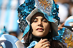 17 JUN 2010: Argentina fan. The Argentina National Team defeated the South Korea National Team 4-1 at Soccer City Stadium in Johannesburg, South Africa in a 2010 FIFA World Cup Group E match.
