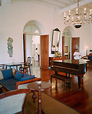 SRI LANKA, Asia, Galle, interior of the Amangalla Hotel in Galle.