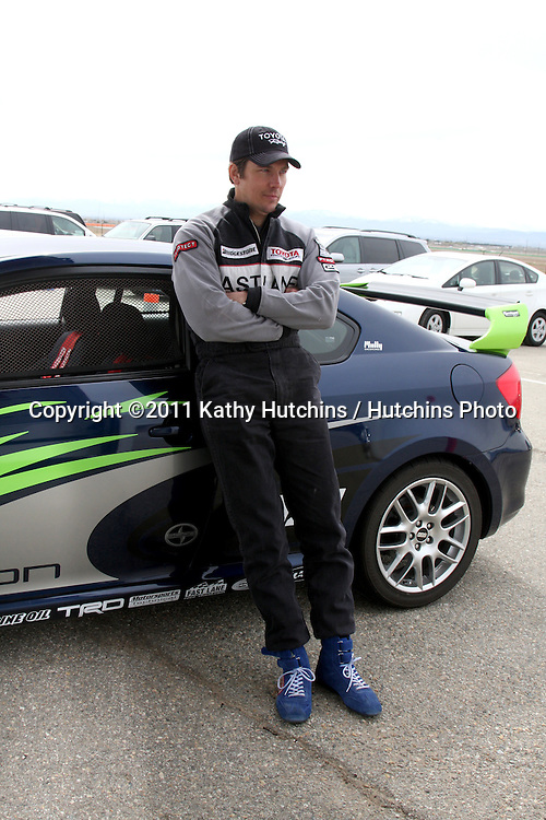 LOS ANGELES - MAR 19:  Michael Trucco  at the Toyota Pro/Celebrity Race Training Session at Willow Springs Speedway on March 19, 2011 in Rosamond, CA