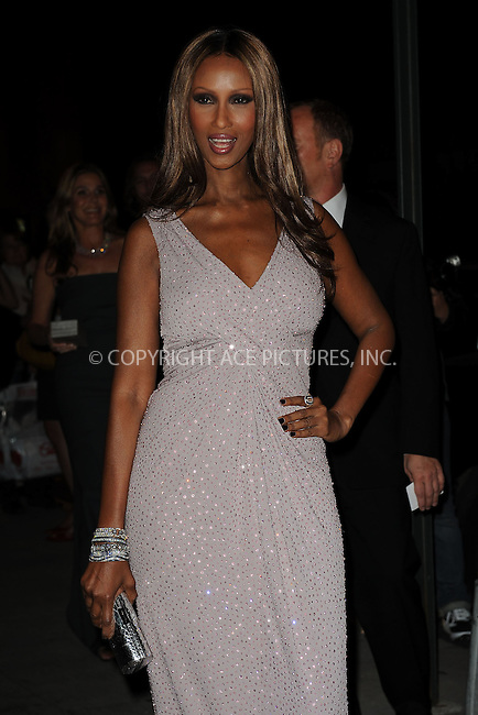 WWW.ACEPIXS.COM . . . . . ....October 22 2009, New York City....Model Iman arriving at the Fashion Group International's 26th annual Night Of Stars at Cipriani, Wall Street on October 22, 2009 in New York City.....Please byline: KRISTIN CALLAHAN - ACEPIXS.COM.. . . . . . ..Ace Pictures, Inc:  ..tel: (212) 243 8787 or (646) 769 0430..e-mail: info@acepixs.com..web: http://www.acepixs.com