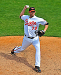 6 March 2009: Baltimore Orioles' pitcher David Pauley on the mound during a Spring Training game against the Washington Nationals at Fort Lauderdale Stadium in Fort Lauderdale, Florida. The Orioles defeated the Nationals 6-2 in the Grapefruit League matchup. Mandatory Photo Credit: Ed Wolfstein Photo
