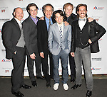Ensemble Cast attending the Broadway Opening Night Performance after party for 'The Mystery of Edwin Drood' at Studio 54 in New York City on 11/13/2012