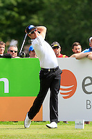 Mikko Olonen (FIN) on the 10th tee during Round 2 of the Irish Open at Fota Island on Friday 20th June 2014.<br /> Picture:  Thos Caffrey / www.golffile.ie