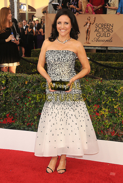 30 January 2016 - Los Angeles, California - Julia Louis-Dreyfus. 22nd Annual Screen Actors Guild Awards held at The Shrine Auditorium.      <br /> CAP/ADM/BP<br /> &copy;BP/ADM/Capital Pictures