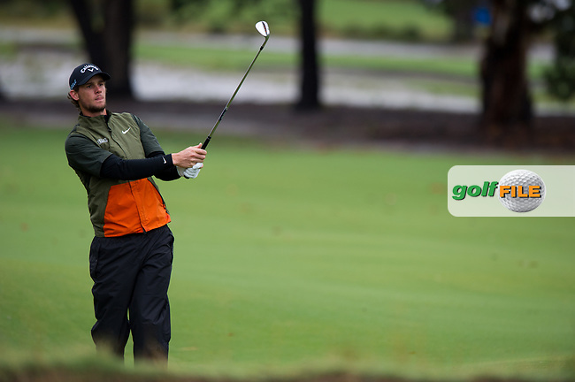 Thomas Pieters (BEL) during the second day of the World cup of Golf, The Metropolitan Golf Club, The Metropolitan Golf Club, Victoria, Australia. 23/11/2018<br /> Picture: Golffile   Anthony Powter<br /> <br /> <br /> All photo usage must carry mandatory copyright credit (© Golffile   Anthony Powter)
